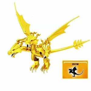 Cartoon Strange Creature Dragon Action figures Educational Children DIY Ornaments Garden Birthday Toys