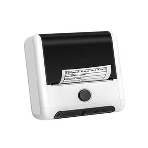 Clothing Tag Jewelry Price Barcode QR Code Sticker 20-80MM Portable Mini Mobile Phone Bluetooth Thermal Label Printer Printers