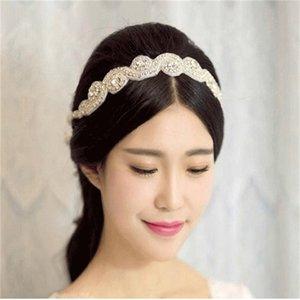 Düğün Gelin Saç Kristal Bantlar Gelin Taç Tiara Saç Bandı Düğün Gelin Takı NEW05 860 Q2