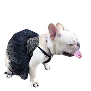 Polka Dot Pet Dresses Vest Skirt Letter Printed Puppy Dress Dog Apparel Teddy Schnauzer Bulldog Pets Clothes