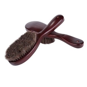 Clothes Brush Garment With Soft Horsehair And Wooden Handle For Coat Men Suits Shoes Furniture UD88 Clothing & Wardrobe Storage