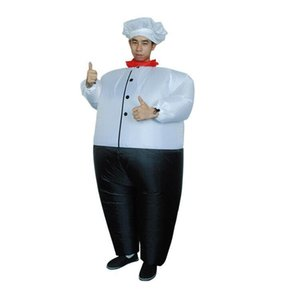 Big Fat Chef inflatable costume Carnival Party toys make up costumes props opening annual meeting new costumes for HalloweenHalloween Party Cosplay Funny