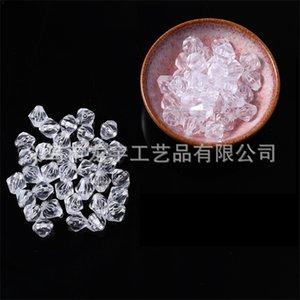 Perles de verre en cristal de bicone blanc clair 4mm # 5301 Perles d'espacement pour la fabrication de JOIERJK 2 W2