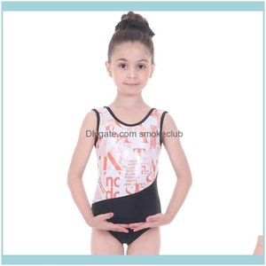 Equipos de baile Suministros de fitness Deportes al aire libredance Cinta Gimnasia Leotardo Niños Ropa Figura Patinaje rítmico para niñas Ballet Leo