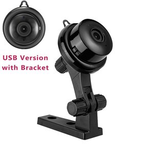 Cameras V380 Mini Wifi IP Camera HD 1080P Wireless Night Vision Two Way Audio Motion Detection Home Security Baby Monitor