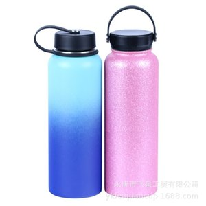 Hydroflask stainless steel 304 outdoor vacuum insulation Cup large capacity sports space pot