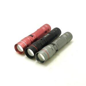 Lumens Cree XP-E Q5 Mini Mini Meatable 3 режима LED 14500 / аккумулятор регулируемый факел фонарики факелов