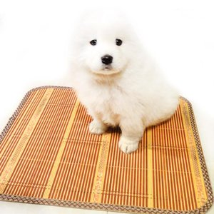 Kennels & Pens Pet Dog Cool Double-Sided Mat Cat Wo Dian Edge Cooling Bed Blanket Large