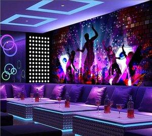 Murals Wallpaper for 3d Living Room Madden Dance Dream Cool Bar Ktv Decorative Wall