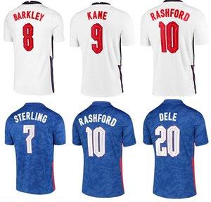 2021 ENGLAND DELE ALLI soccer jerseys KANE RASHFORD VARDY BARKLEY STERLING STURRIDGE SANCHO jersey 2021 Adult men Size S-4XL