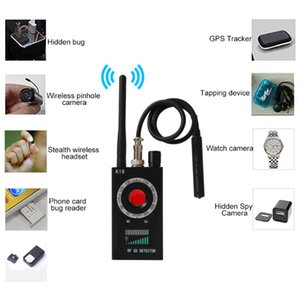1MHz-6.5GHz Anti Spy Detector & Camera Finder Detector Hidden Camera Detector GSM Audio Bug Finder GPS Signal Lens RF Tracker Detect Wireless Products