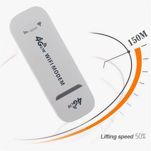 150Mbps 4G LTE Adapter Modem Wireless USB Network Card Universal White WiFi router for home office car el use 210607