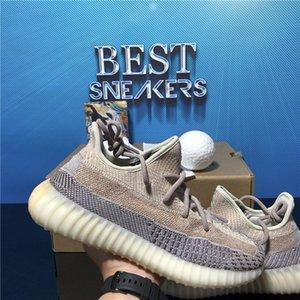 En Kaliteli Koşu Ayakkabıları Sneakers Kül Mavi İnci Cinder Asriel Kuyruk Işık Siyah Statik Yansıtıcı Zebra Oreo Keten Spor Trainer Sneaker Kutusu Boyutu 36-48
