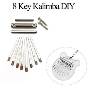 Kalimba Keys Diy Thumb Piano 8 Keys Bridge Saddle Hardware Pack For Mbira Diy Replacement Parts Accessory