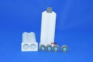 Adhesives & Sealant Latest style Chinese Red 50ML 2: 1 AB glue gun 1sets 2pcs 1: 1AB cones TYXF