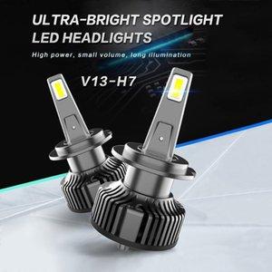 Car Headlights LED H4 H7 H1 9005 Light 80W 8000LM 6000K Headlght For Original HID Bulbs Replace Kit Headlamp Super Bright