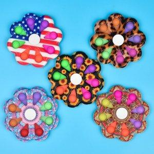 Push Fidget Toys Finger Bubble Press Relief Fingertip Relieve fidgeting Decompression Toy Educational Kids Children Gift