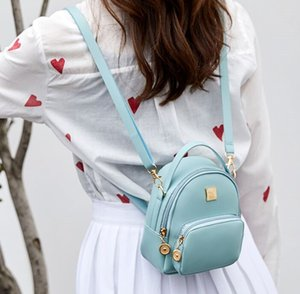 PU Leather Mini Bags girl Backpack Sweet Bow Mouse Ears Teen Girls Backpacks School Bag Kids Shoulders HandBags