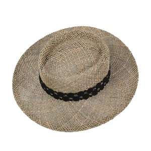 Hollow Breathable Beach Hats For Women summer Straw Hat Fashion Panama Sun Hats Ladies Party Hat Dress Up Holiday Gift