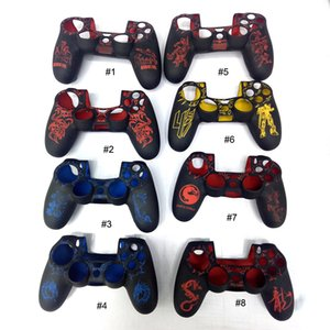 PS4 Silicone Skin for Playstation Controller Cover Case Gel Grip Rubber Protective compatible with Playstatio n 4 Gamepad laser