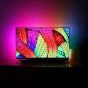 Uxog лампа ремня diy телевизор drom экран USB светодиодная полоса подсветка ремень компьютер дисплей фантазии декоративное светодиодное освещение Neon ntgq