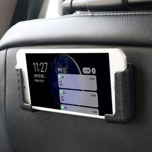Adjustable Width Car Interior Accessories Multifunction Car Cell Phone Holder GPS Display Bracket Self-adhesive