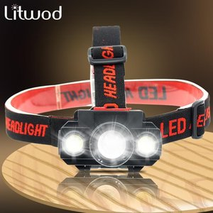 Zoomable COB XP-G Q5 Led Fishing Headlight Use Rechargeable 18650 Battery Headlamp Head Lamp Torch For Camping Light Headlamps