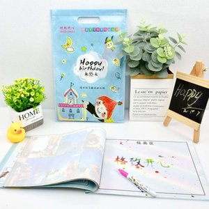 Water Children's Writing Cloth Creative Multi Page Learning Book Clear Graffiti Reusable Copy Recognition Picture