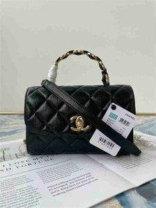 Chanel luxury designer handbag flip bag women's 19 bag handbag women's leather t table women's European handmade top quality