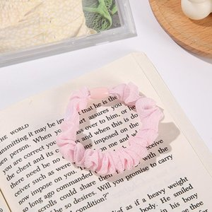 Hair Clips & Barrettes 5pcs Cloth Thick Ties Candy Colors High Elasticity Holder Suitable For Women Girls Accessories ML
