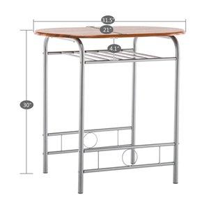 Пара столовая столовая таблица кофе творческий современный простой западный пищевой стул досуг комбинация двух человек костюм три части мебель