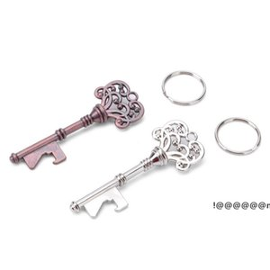 Vintage KeyChain Key Chain Beer Bottle Opener Coca Can Opening tool with Ring or Chain EWC7294