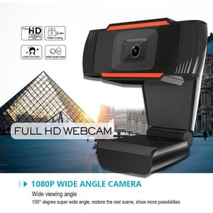Webcams 1080P Webcam With Microphone, Manual Focus Webcam, Computer Camera Web PC For Video Calling Recording
