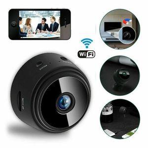 Mini Casus Video Kamera WIFI IP Kablosuz Güvenlik Gizli Kameralar Kapalı Ev Gözetim Gece Görüş Küçük Kamera A9 1080 P Full HD