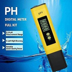 Digital PH Meter LCD Tester Pocket Hydroponics Test Pen Accuracy 0.01 Aquarium Pool Water Wine Urine Automatic Calibration