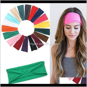 Hair Rubber Sweatband Hood Gym Work Out Running Unisex Head Bands Absorbent Cycling Yoga Sport Sweat Headband Drop Haoqr Ctvon