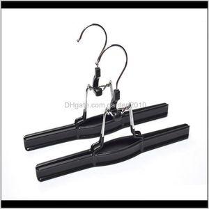 & Racks Pvc Metal Skirt Hangers Pants Clamp Hair Extension Hanger X9Ly8 F7P0M