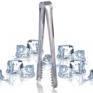 Nuovo barbecue in acciaio inox barbecue BBQ clip pane cibo morsetto di ghiaccio ice tong tool bar bar accessori da cucina all'ingrosso AHF6194