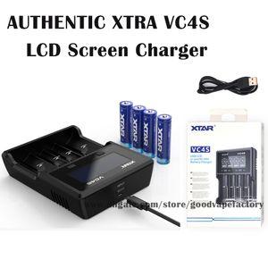 Authentic Xtra VC4s Carregador de Bateria Intelligent Micro USB Entrada para Xtra VC4s Carregador de Bateria Bateria de Bateria Suprimentos Powerbank