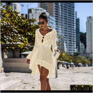 Equipment Water Sports & Outdoors Delivery 2021 Fashion Style Summer Swimming Bikeni Small Butterfly Pattern Beach Shawl Colors Cover-Ups Can