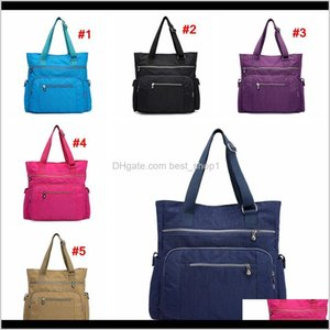 Handbags Accessories Baby, Kids & Maternity Drop Delivery 2021 Women Shoulder Bag Nylon Multifunction Handbag Waterproof Mummy Messenger Beac