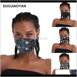 Designer Sparkly Rhinestone Mask Black Bling Crystal Masquerade Ball Party Nightclub Face Masks For Women And Girls Owe2491 Fbk6R Frokw