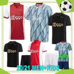 Tadiç 20 21 Amsterdam Tadic Futbol Forması 2020 2021 Cruyff Kudus Antony Kör Promes Neres Erkekler Kids Kiti Futbol Gömlek Üniformaları Üçüncü 50