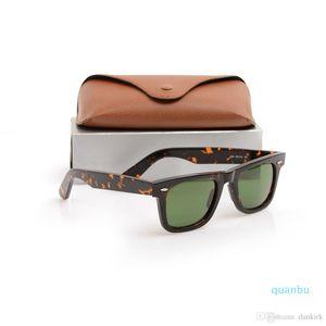 Mens Quality Lens Sun Glasses Glass Ray Tortoise Frame Green Lens Metal Plank Sunglasses Glasses High Hinge Sunglasses Wayfarers Sun Wo Dxfc