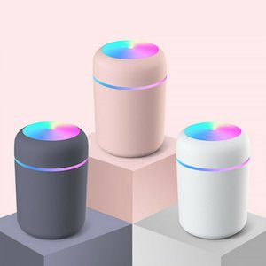 Taşınabilir Hava Nemlendirici 300ml Ultrasonik Aroma Uçucu Yağ Difüzör USB Serin Mist Maker Arıtma Aromaterapi Aromaterapi