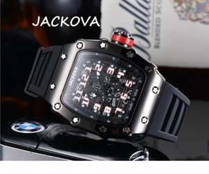Automatic Watch Hollow Skeleton Designer Sapphire Waterproof Super Luminous Silicone Strap Mens Watch