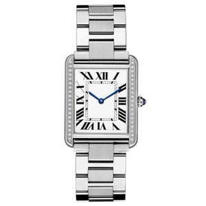 Fashion ladies business men stainless steel watch multiple sizes choose a variety of Italian calfskin wristband optional collocation presents exquisite gifts