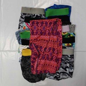 WITH BAG Random Mens Underpants Designer Boxers Underwear for Men Boxer Quick Dry Male Sportwear Hip Hop Beachpants Comfortable Breathable Cuecas Swimwear