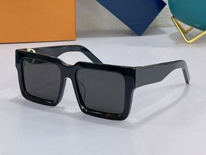 2196 Fashion Summer style Gradient lens Sunglasses UV 400 Protection for men and Women Vintage square Plank Frame Top Quality Come With Case classic eyeglasse