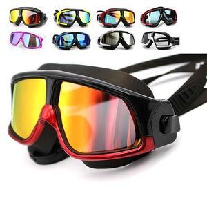 Противотуманистые очки для взрослых силиконовые гелевые покрытия плоские световые дайвинг высококачественные экологически чистые кремнеземное оборудование